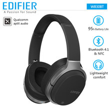 EDIFIER W830BT Wireless Headphones Stereo Sound Bluetooth Headset BT 4.1 with 3.5mm Cable for iPhone Samsung Xiaomi