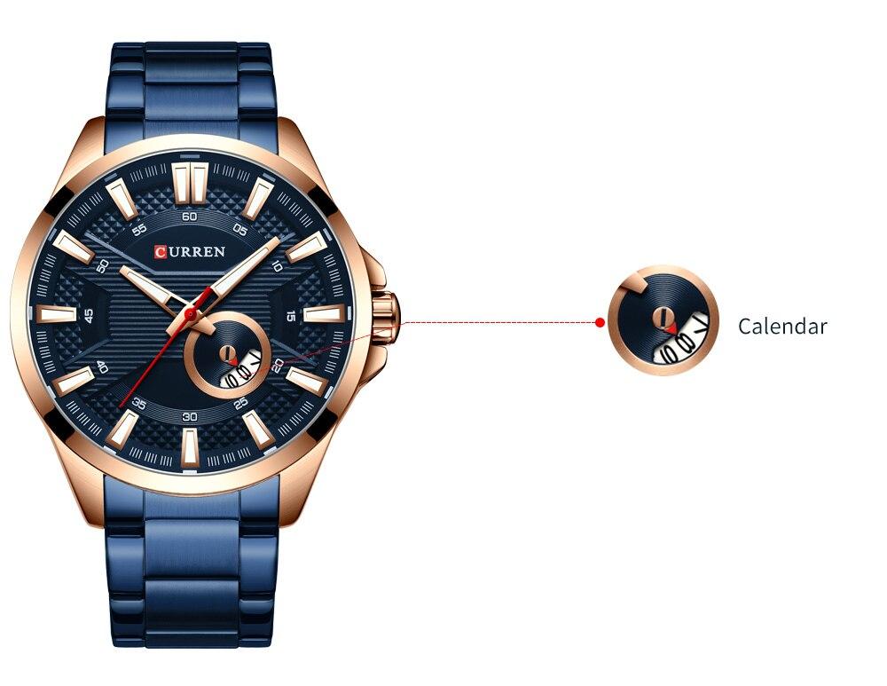 Hd6ccf07a047043c0a9c53555cfadd842N New Stainless Steel Quartz Men's Watches Fashion CURREN Wrist Watch Causal Business Watch Top Luxury Brand Men Watch Male Clock
