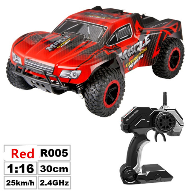 RC Car 2.4G Remote Control Off-road Vehicle Remote Control Cars Climb Buggy Trucks Boys Toys Rechargeable 1:16 5