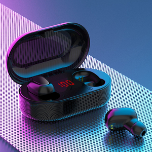 Image 2 - TWS Bluetooth Earphone LED Display Wireless Bluetooth Earphone Headsets With Microphone Waterproof Noise Cancelling Earphones