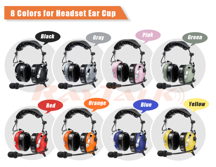 Aviation Headphone pilot Headset, Active Noise Cancelling, Comfortable Ear Pad, Excellent Sound, MP3 Input, High Quality