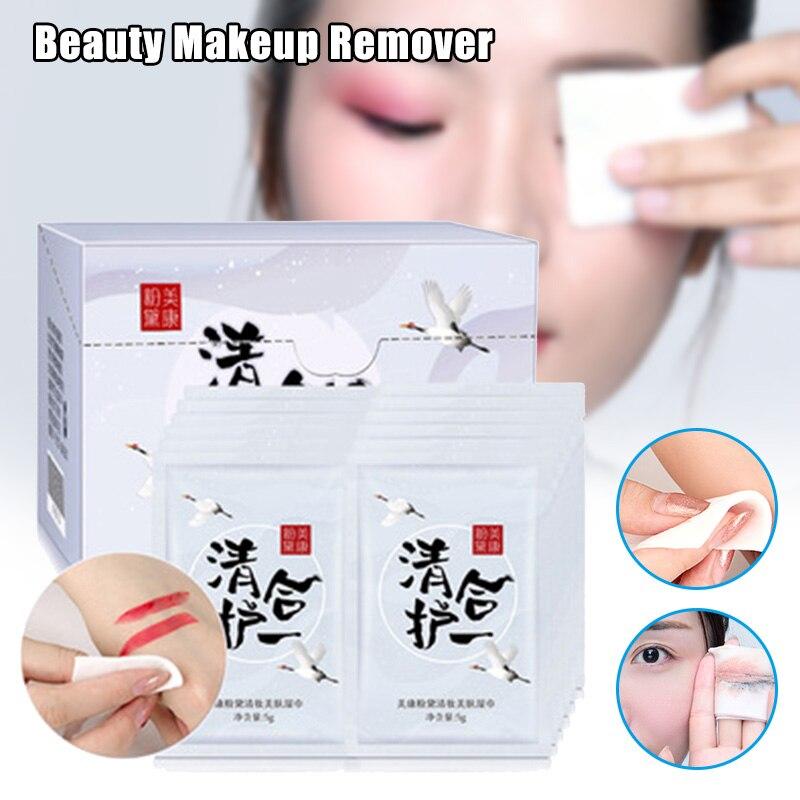 30 pcs set removedor de maquiagem toalhetes limpeza profunda facial almofadas tecidos kg66
