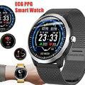 Умные часы ECG PPG Smartwatch С электрокардиографом Ecg дисплей пульсометр кровяное давление Спорт Смарт Браслет часы
