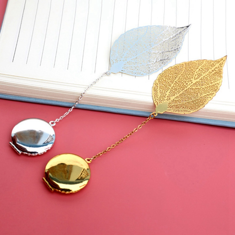 Anime My Hero College Creative Hollow Leaf Metal Bookmark Beautiful Cool BookMark Student Gift Stationery School Office Supplies