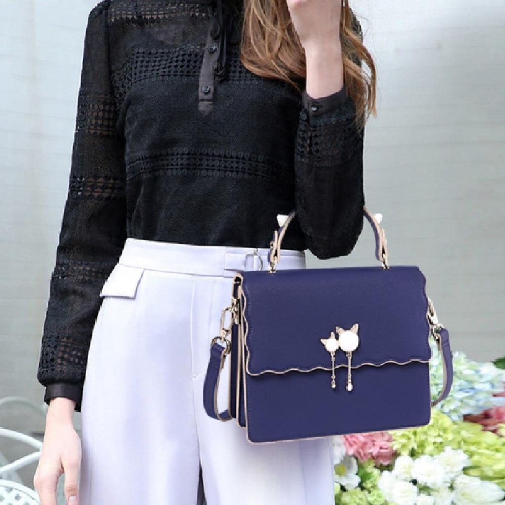 Hot&New luxury handbags women bags designer bags for women 2020 new leather shoulder bag luxury woman handbag#jy201 Top-Handle Bags  - AliExpress
