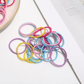 100 sztuk nowa wersja nowej głowy liny wysokiej elastycznej gumki dla dziewczynek i niemowląt tanie i dobre opinie CASUAL moda NYLON CN (pochodzenie) Cztery pory roku Dzieci Elastyczne gumki do włosów Dziewczyny Nakrycie głowy Dekoracji