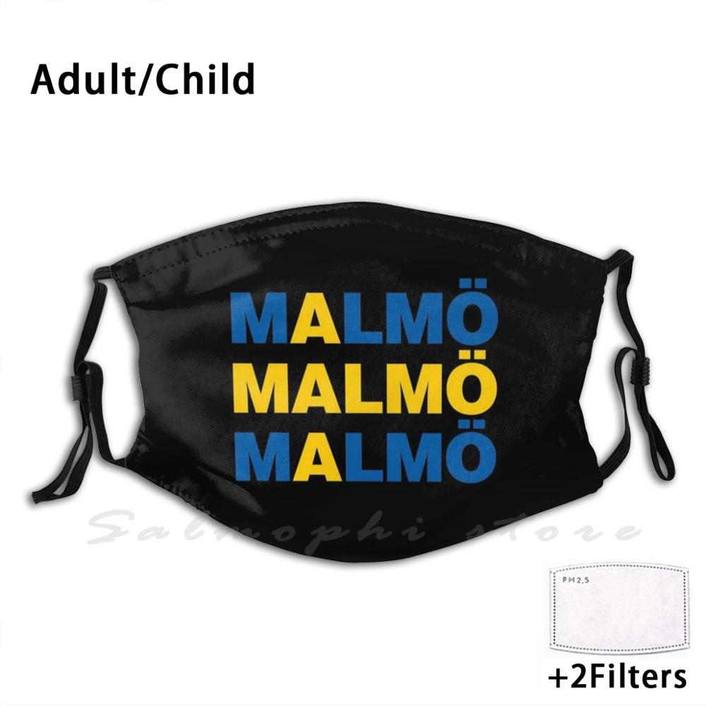 <font><b>Malmo</b></font> Sverige Swedish City Sweden Adult Kids Anti Dust Filter Diy Mask <font><b>Malmo</b></font> Sverige Swedish City Sweden Travel Visit Sweden image