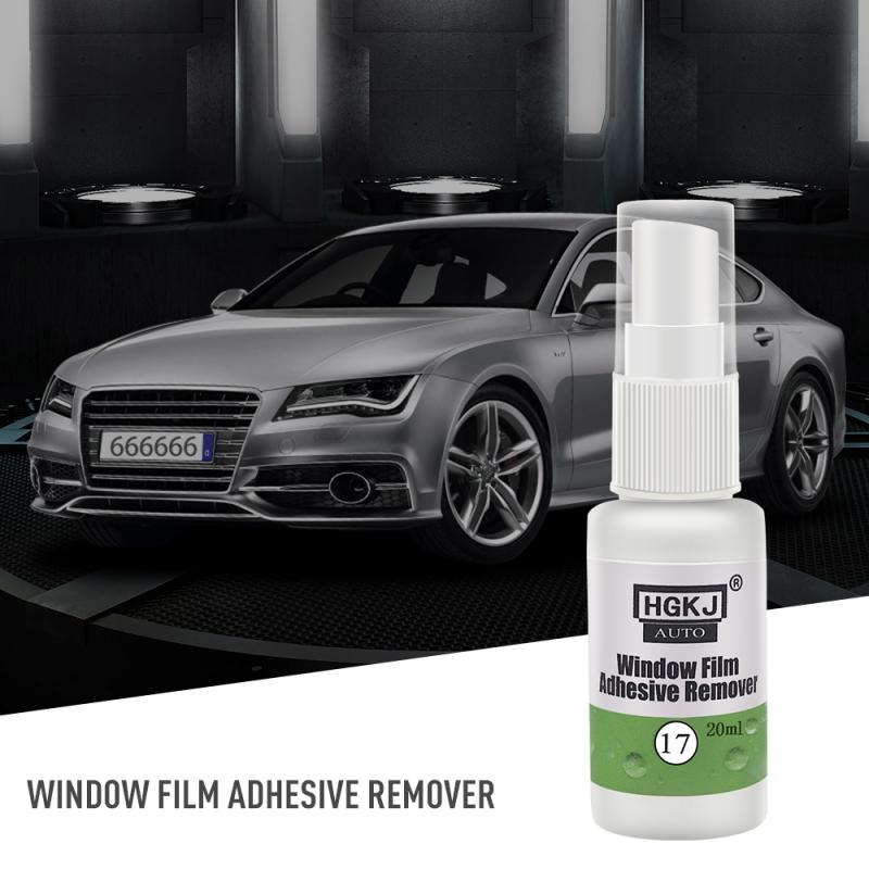 HGKJ-17-20ml Efficient Glue Removal Cleaning Agent Sticker Remover Spray Window Film Adhesive Remover Cleaner Windshield Cleaner
