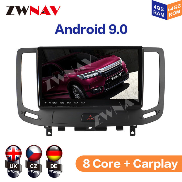 IPS DSP Android 9 IPS Screen Car Multimedia For Infiniti G ser Co One Outback Radio Tape Recorder Head unit Car Multimedia Playe 1