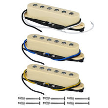 3PCS/Set Single Coil Pickup Electric Guitar Pickup Neck/Middle/Bridge 48/50/52mm for FD Strat Guitar Accessories(China)