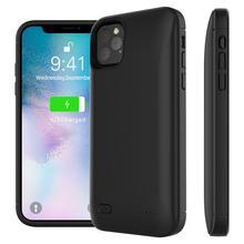Чехол для iPhone 11 11 Pro 11 Pro Max 5 5S SE 6 6s 7 8 Plus Xr X Xs Max чехол для зарядного устройства 4000 мАч чехол для аккумулятора