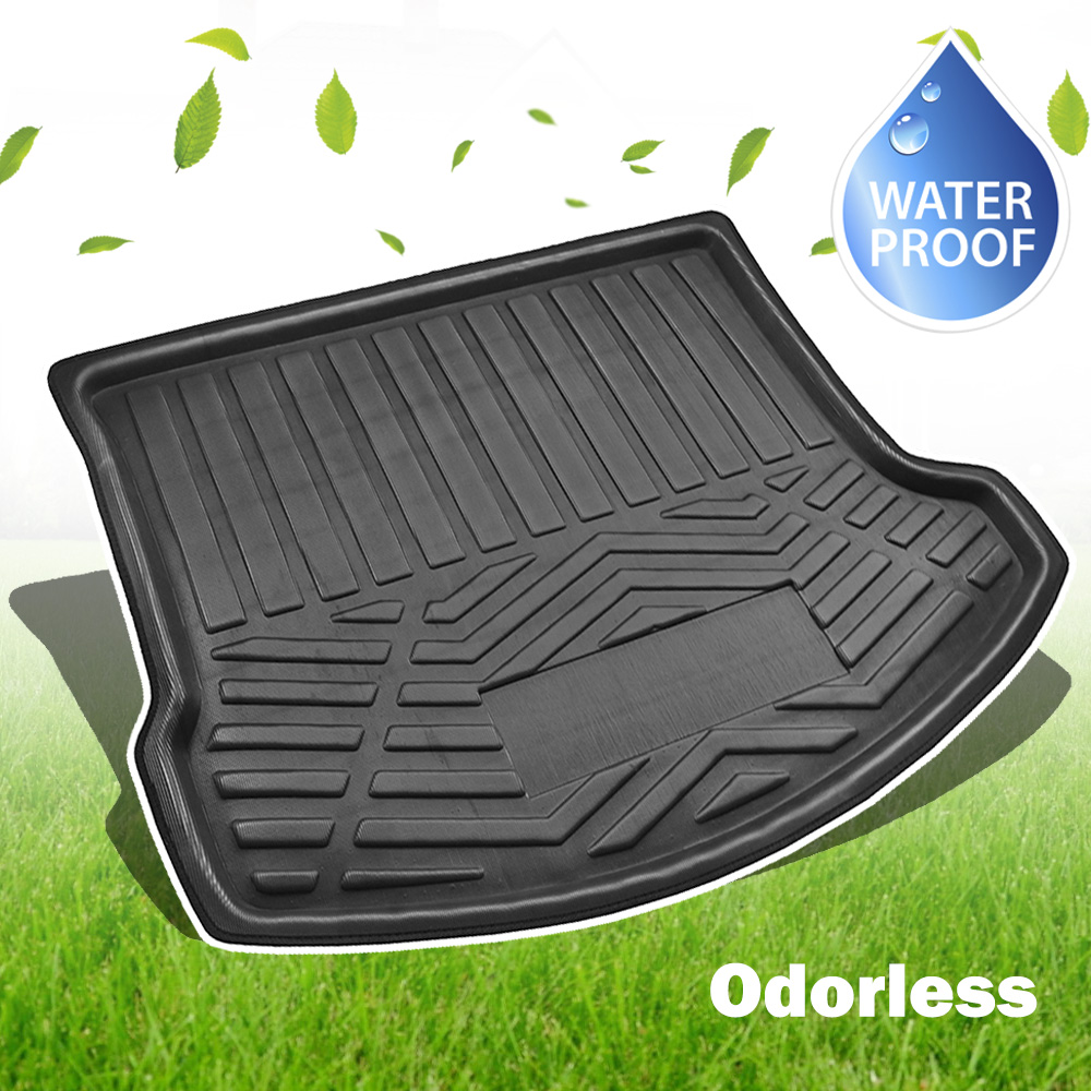 Rubber Boot tray liner car mat protector tailored for SEAT ALHAMBRA 2010-up