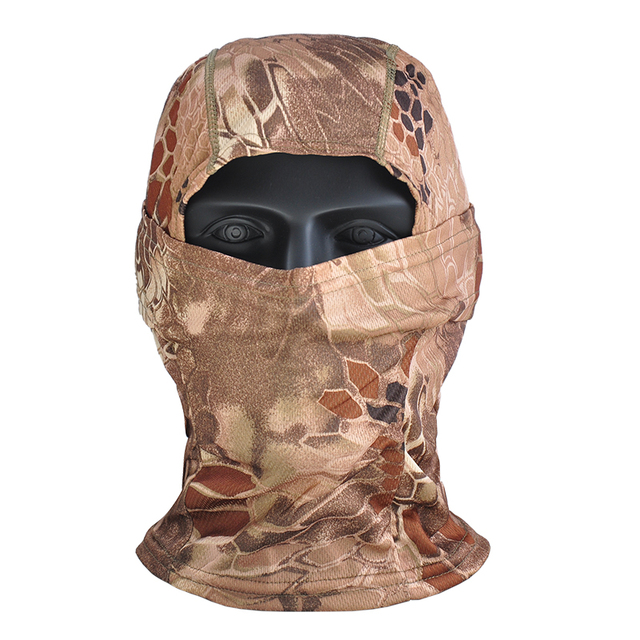 Airsoft Multicam Camouflage Tactical Paintball Wargame Military Airsoft Army Helmet Liner Protection Full Face Cap Mask for CS 5