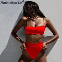 Solido di Alta Vita Bikini Set Sexy Del Leopardo Del Bikini Delle Donne Del Serpente di Stampa Costume Da Bagno SuitSwimsuit 2020 Nuovi Costumi Da Bagno Estate Beachwear