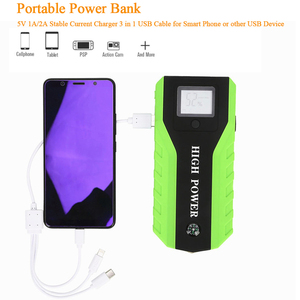Image 5 - GKFLY Multi Function 20000mAh 12V Starting Device 1000A Car Jump Starter Power Bank Car Charger For Car Battery Booster Buster