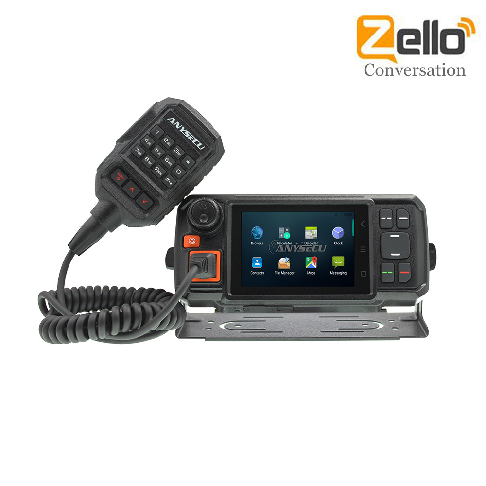 4G-W2plus N60 N4G Android Network Radio Walkie Talkie Phone Zello PTT Bluetooth GPS GSM SOS Function Touch Screen Wifi Radio