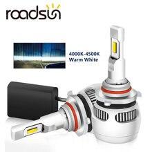 Новое поступление 4000k 4500k h4 h7 светодиодсветодиодный лампы