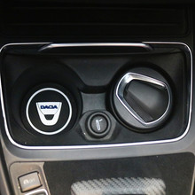 Tapis antidérapant porte bouteille, 2 pièces, pour voiture, tapis antidérapant, pour Dacia Lodgy 2 Mcv Sandero Duster Logan SanderoCar