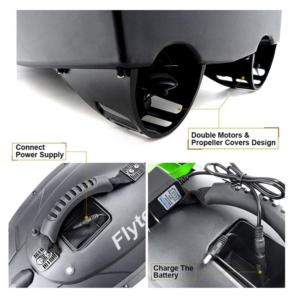 2019 NIEUWE Flytec 2011 5 Vissen Tool Smart RC Aas Boot Speelgoed Dual Motor Fishfinder Vis Boot Afstandsbediening control Vissersboot - 3