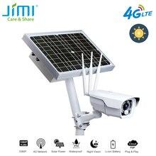 Jimi JH016 IP камера 1080p с 4G сетевая перезаряжаемая на батарейках солнечная панель Wifi камера Full HD камера безопасности для улицы