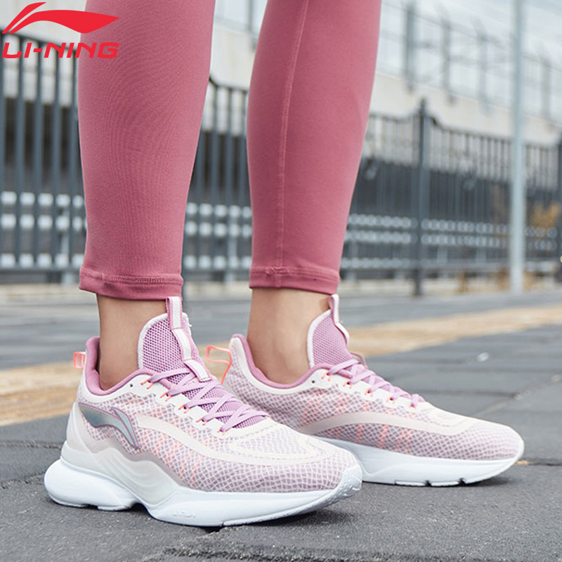 Li-Ning Women CRAZYRUN X Cushoin Runing Shoes Breathable Support LiNing Li Ning CLOUD LITE Sport Shoes Sneakers ARHP122 XYP938