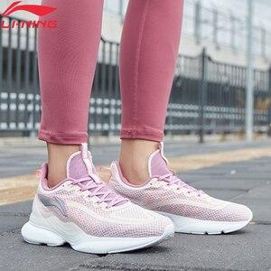 Image 2 - Li ning, zapatos para correr CRAZYRUN X Cushoin para mujer, soporte respirable, Li Ning CLOUD LITE, zapatillas deportivas, zapatillas ARHP122 XYP938
