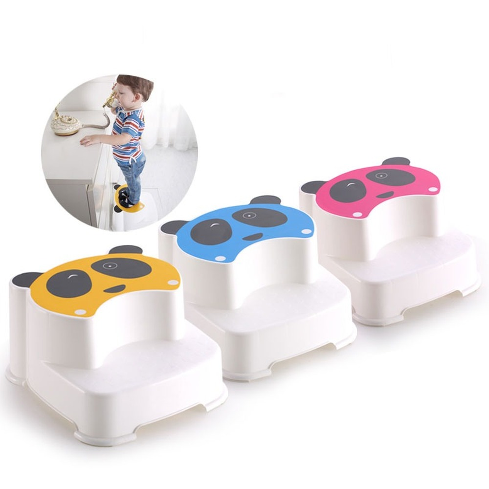 Children's Panda Double Thicken Footsteps Baby Mats Stools Steps Stools Seat Stool Wy10126