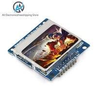 Eletrônica inteligente módulo lcd monitor de exibição azul backlight adaptador pcb 84*48 84x84 lcd 5110 nokia 5110 tela para arduino
