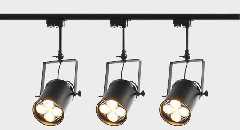 lâmpada para celeiro galeria roupas loja iluminação local