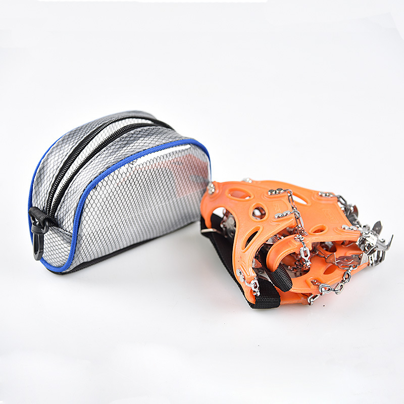 Portable Crampons Storage Bag Climbing Kits Spikes Shoe Covers Holder Hiking Tools