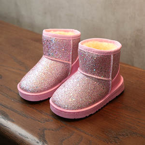 Winter Shoes Snow-Boots Toddler Warm Girls Baby Kids Plush for Boy Children New-Arrival