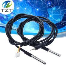 Завеса DS1820 из нержавеющей стали посылка Водонепроницаемый DS18b20 Температурный Зонд температурного датчика 18B20 синхро-адаптер длиной 1 м/2 м/3 м для Arduino