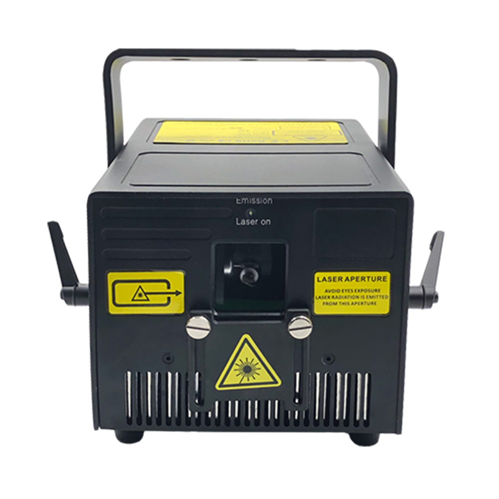 3W RGB Laser Stage Light DMX ILDA Sound Control 3000mW For Disco, Party, DJ Lighting Effect, Professional Laser Show