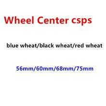4 pçs 56mm 60mm 68mm 75mm centro da roda emblema do carro hub tampas emblema cobre acessórios de estilo do carro
