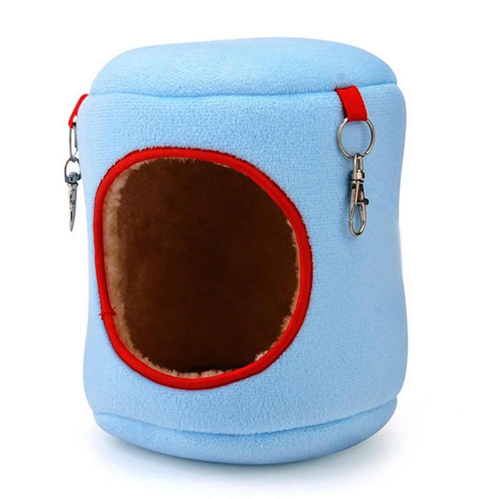 קטן צ 'ינצ' ילה בית מיטת תלייה אוניברסלית מיטת סופר רך חיות מחמד קן נוח ציפור בית נייד בעלי החיים מיטת כלוב