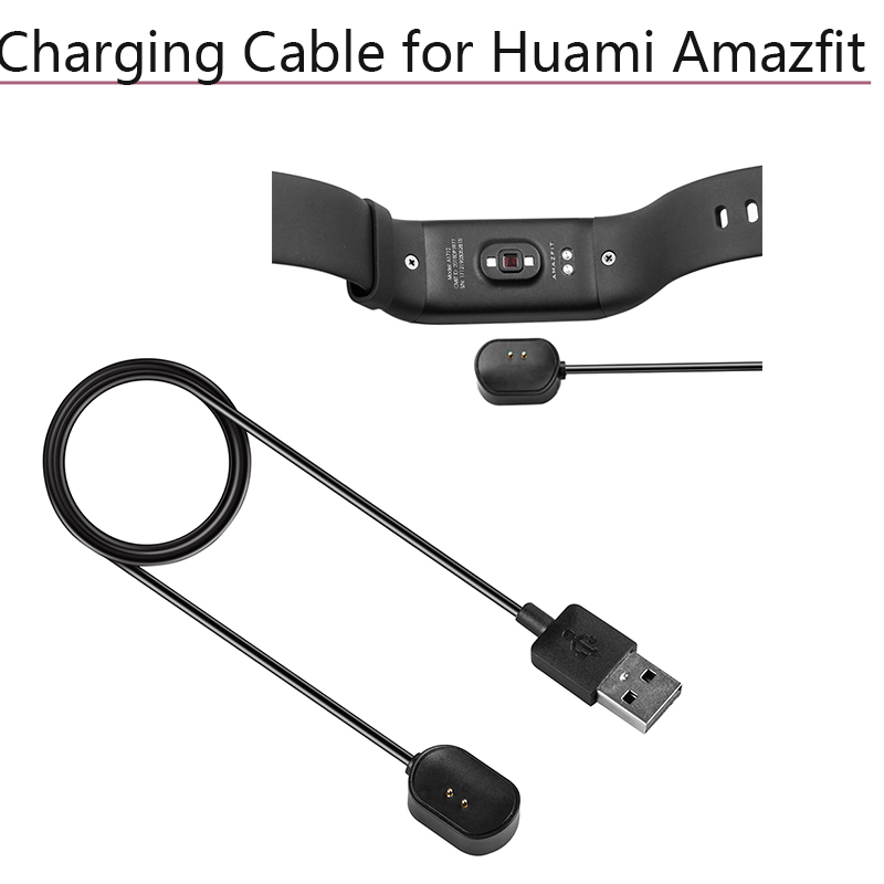 Portable USB Charging Data Charger Magnetic Charging Cable for <font><b>Huami</b></font> <font><b>Amazfit</b></font> <font><b>COR</b></font> <font><b>Midong</b></font> Smart Watch Wristband A1702 Accessories image