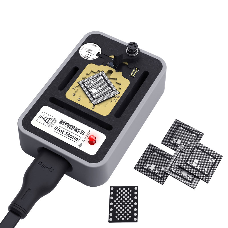 Constant Temperature Heating BGA Glue Removal Station For iPhone 7/7P/8/8P/X/Xs Max CPU Fingerprint Hard Disk Repair Platform