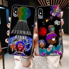 Мягкий силиконовый чехол lil uzi vert atake rapper для iphone