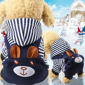 2PUOUPUOU Winter Pet Dog Clothes Cute Dog Clothes for Small Dogs Coat Cotton Ropa Perro Cute Thicken Warm Dogs Clothing XS-XXL new autumn and winter warm coat pet dog clothes cotton soft dog jacket cute cartoon clothing small dog pet clothes xs xxl