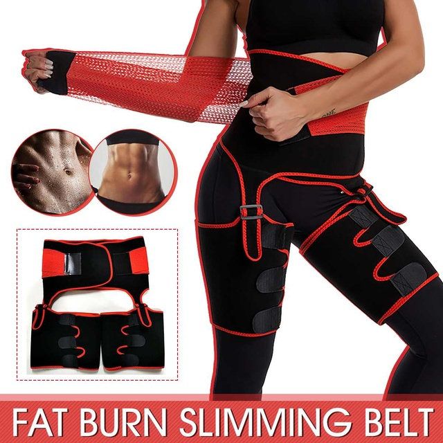 1Pcs Men Women Tummy Waist Trainer Cincher Sweat Belt Trainer Hot Body Shaper Slim Shapewear Sweat Belt Waist Cincher Trainer