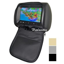 Mp5-Player Headrest-Monitor Display Screen-Car Support Universal Pillow MP4 7-Usb/sd/fm-/..