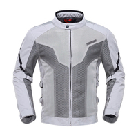 DUHAN Summer Motorcycle Jacket Men Moto Jacket Chaqueta Moto Riding Clothes Breathable Mesh Touring Racing Jacket Motorcycle