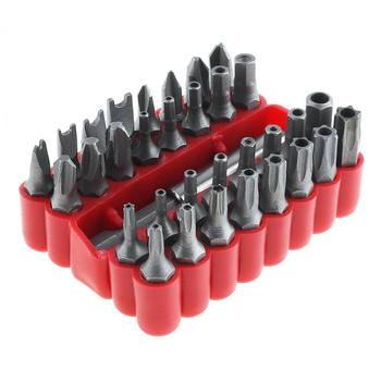 цена на 33 in 1 Hollow Screwdriver Kit with Hexagonal and Torx Special Batch Charging Drill Shaped Screwdriver Tool for Screw