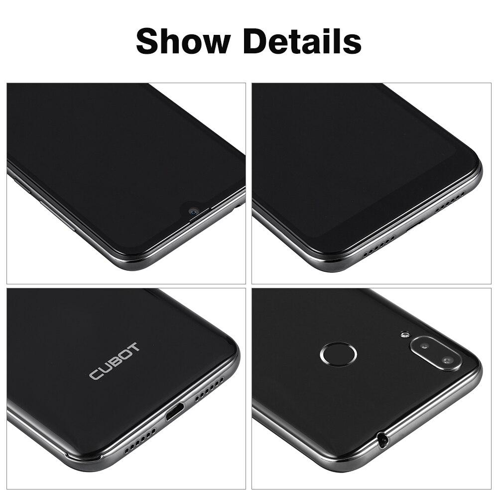 Cubot R19 3 ГБ + 32 Гб Смартфон 5,71 ''Android 9,0 четырехъядерный отпечаток пальца капли воды экран лицо ID мобильный телефон - 5
