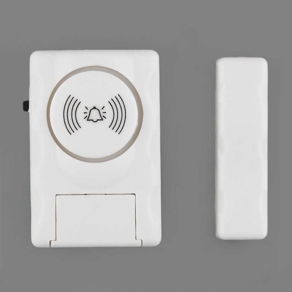 High Sensitivity Wireless Home Door Window Entry Burglar Alarm Magnetic Sensor Detector For Family House Security Best Selling