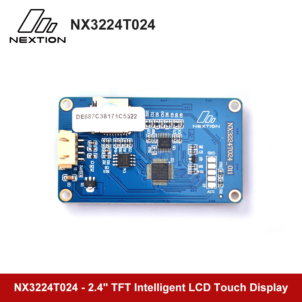 Image 4 - Nextion NX3224T024   2.4 HMI Intelligent LCD Touch Display USART TFT LCD MCU to TTL Module DisplayLED Displays   -