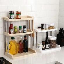 Bouteilles en acier inoxydable PP, porte-bouteilles, pots de rangement de condiments, support de Table pour tagres, accessoires