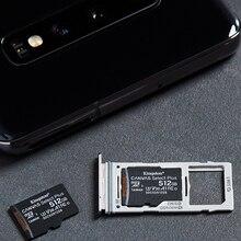 Карта памяти Kingston Micro SD для телефона, класс 10, Micro SD, SD, TF карты на 128 Гб, 32 Гб, 64 Гб, 256 Гб, 16 Гб, 8 Гб, 512 Гб