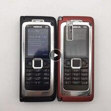 Восстановленный Nokia E90-оригинальный мобильный сотовый телефон NOKIA E90 3G GPS Wifi 3,2 МП Bluetooth смартфон красный и подарок Восстановленный