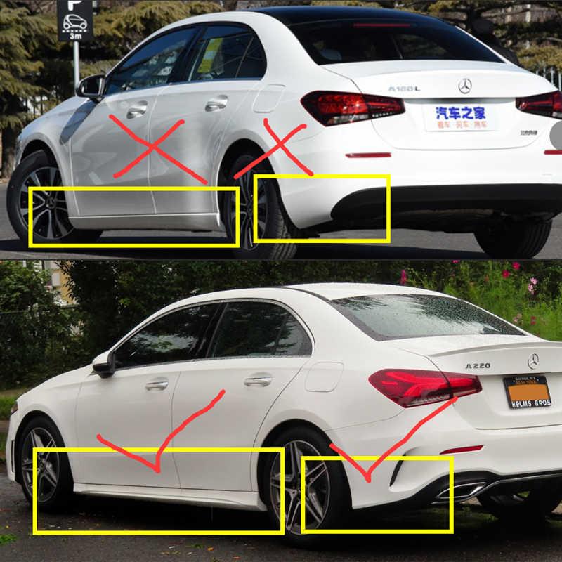 4 PCS Front Rear Car Mudflap For Mercedes Benz A Class A
